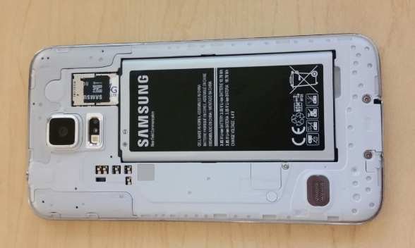Android Galaxy S5 Open Back
