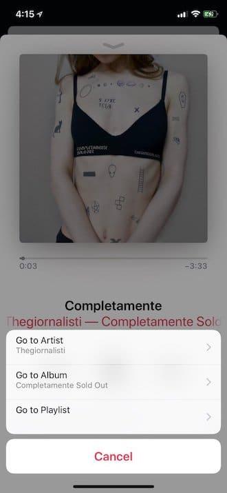 iOS 11.3 Music app feature