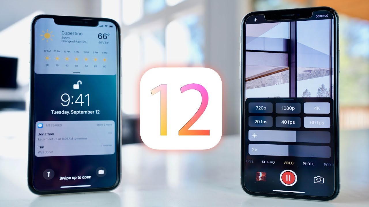 Cool New iOS 12 Features, Release Date & Compatible Devices