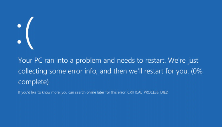 How To Fix Your PC Ran Into A Problem And Needs To Restart | Windows 10
