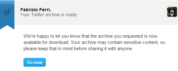 A Twitter archive