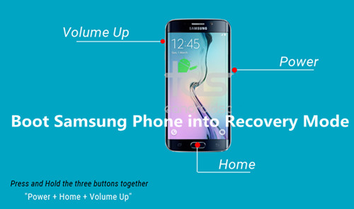 boot Samsung S6 into recovery mode