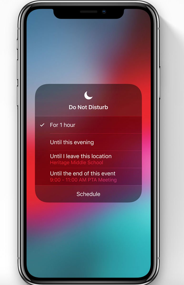 iOS 12 release date & new features: Do Not Disturb During Bedtime