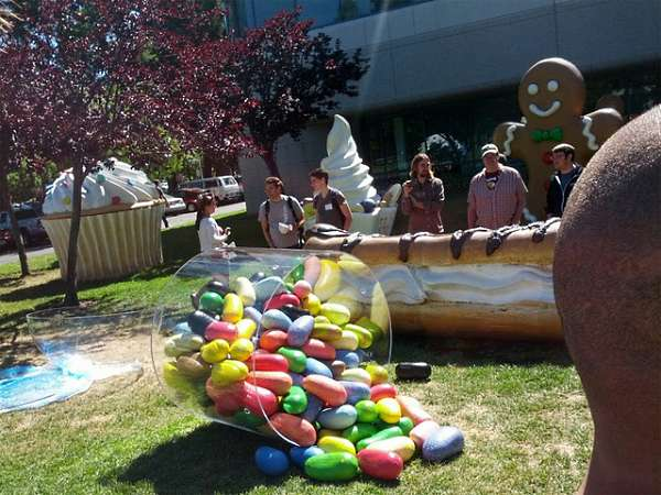 jelly bean google lawn