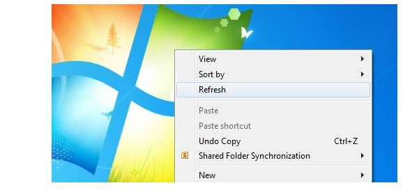 What Exactly Refresh Button Do In Windows ?
