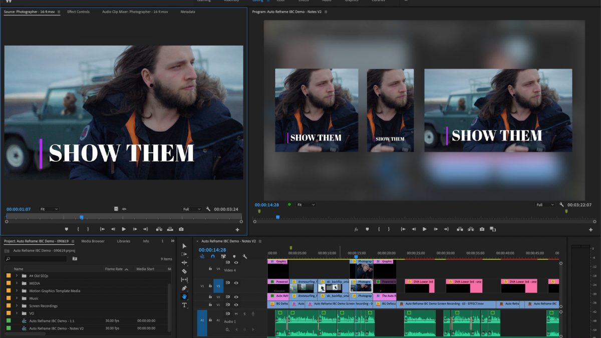 Adobe Premiere Pro Can Automatically Reframe Your Videos   Making Social Media Reformats Easier