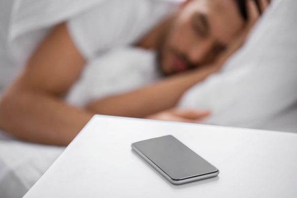 never sleep with phone