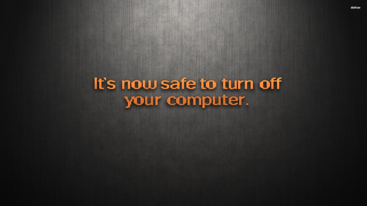 How To Turn On 'It Is Now Safe To Turn Off Your Computer' Screen On Windows 10