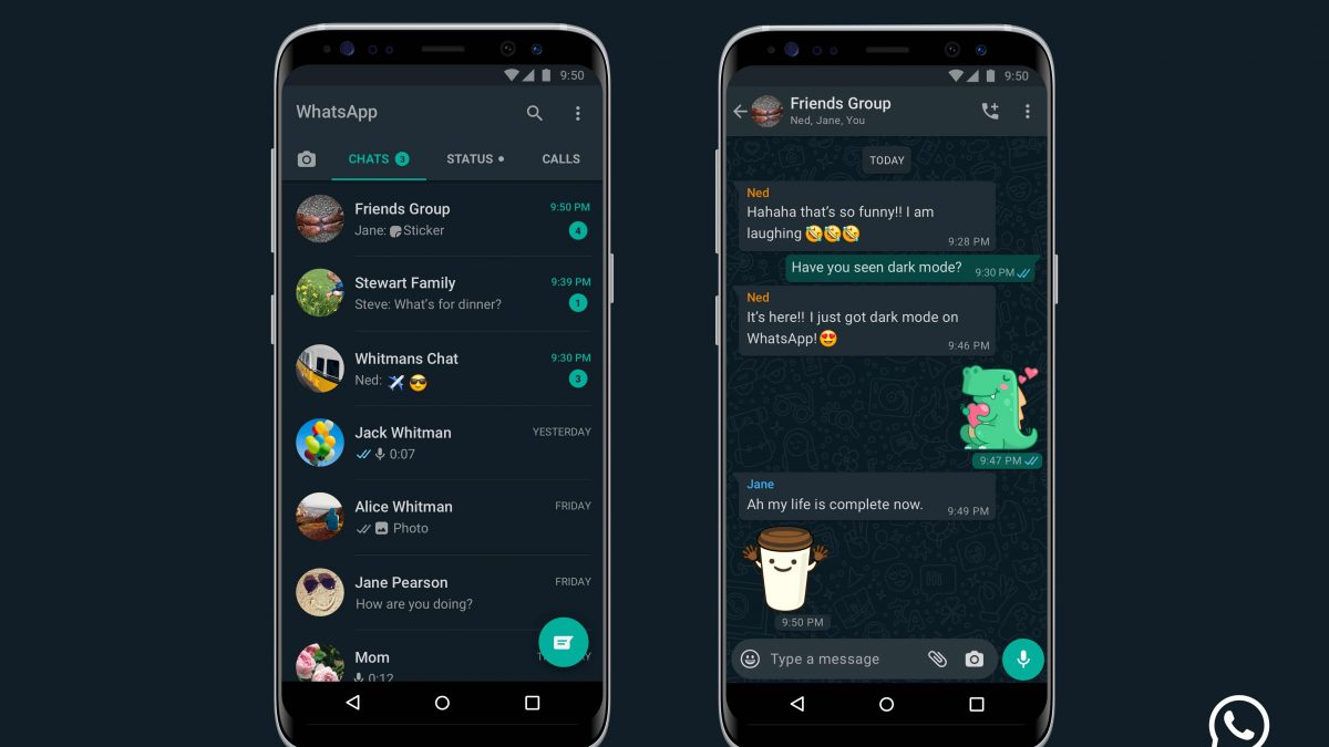 WhatsApp Dark Mode Now Available For iPhone and Android