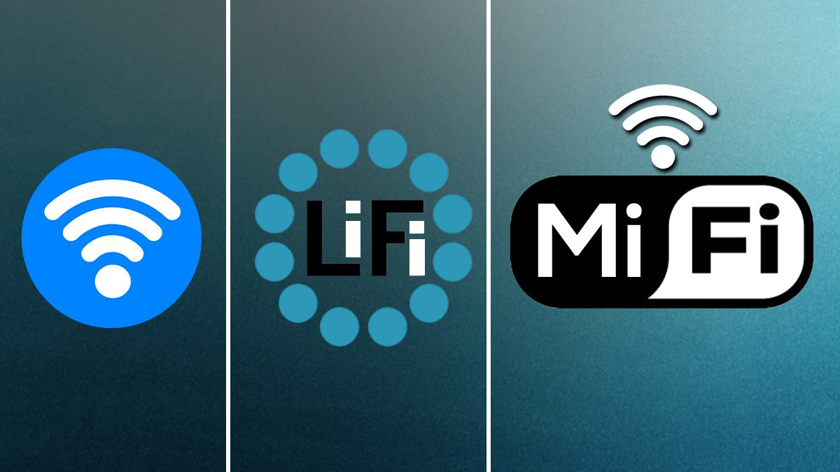 What is WiFi, LiFi and MiFi ?