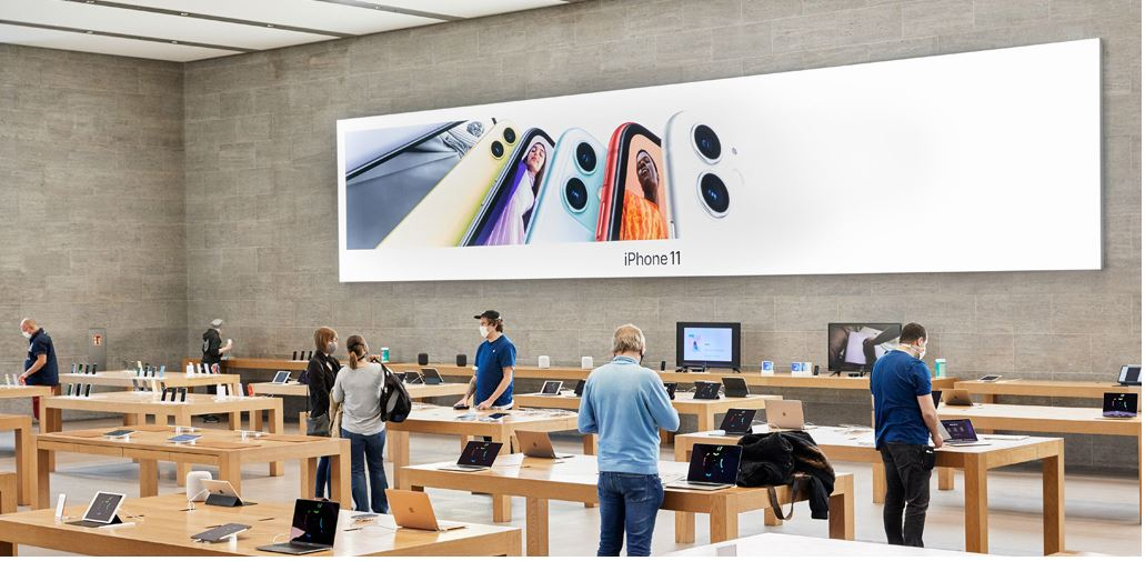Apple Re-closes 25 Percent Of Its US Stores Due To COVID-19 Spikes
