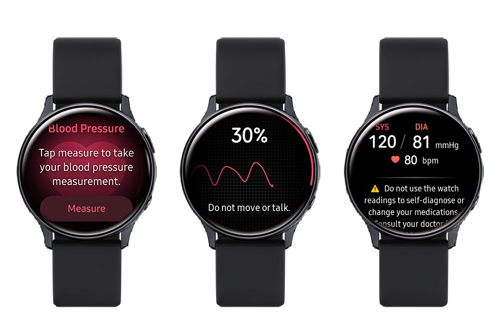 Samsung Launches App To Measure Blood Pressure With SmartWatch