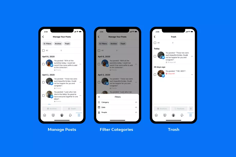 Facebook Is Launching 'Manage Activity' Feature To Bulk Delete Old Posts