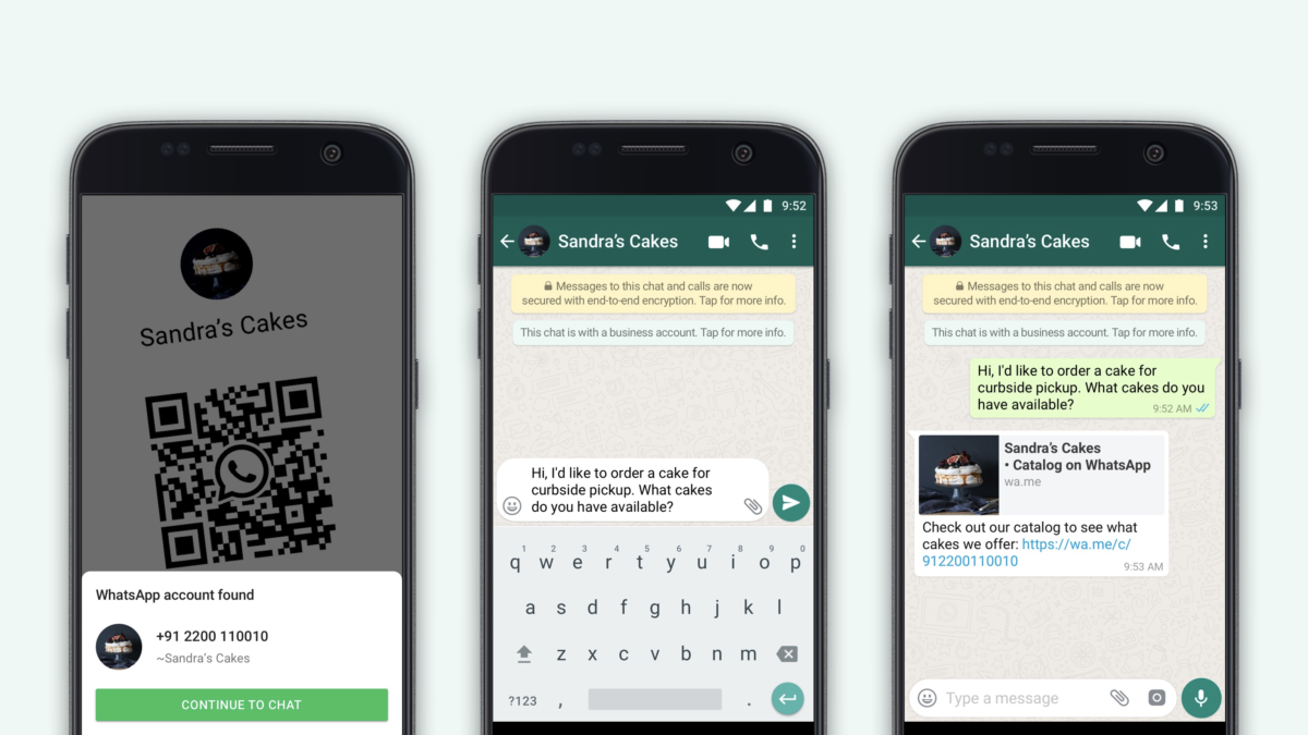 WhatsApp Introduce QR Codes To Connect With Businesses