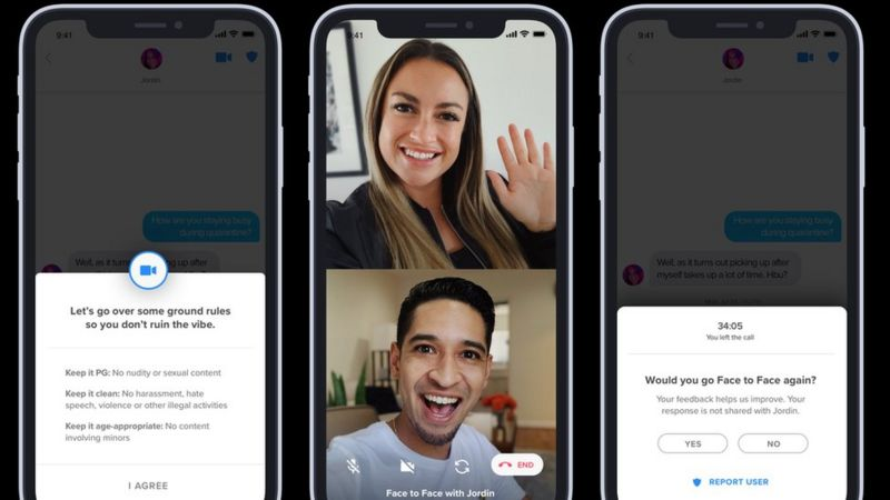 Tinder Launches Face-To-Face Video Chats For Potential Matches