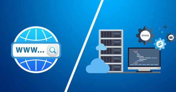domain and web hosting difference