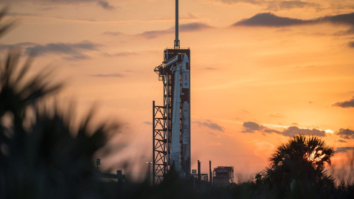 Live: Watch SpaceX's Third Crewed Mission To The ISS