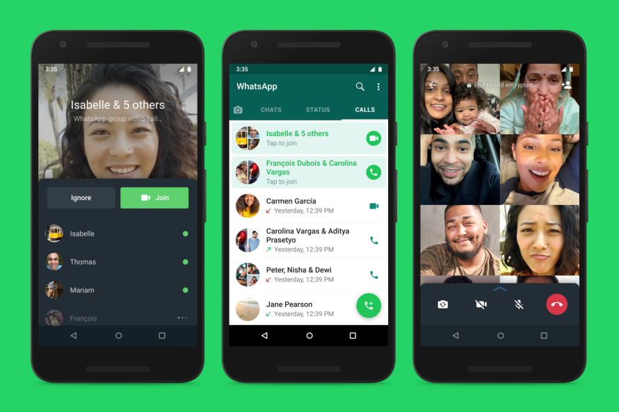 WhatsApp Will Let You Join Group Calls After They Start